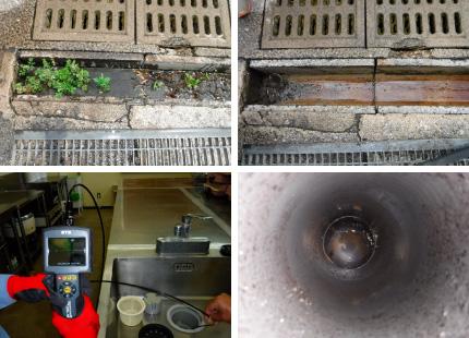 配管詰り解消・高圧洗浄