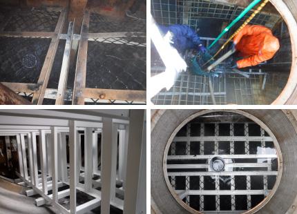 浄化槽補修工事